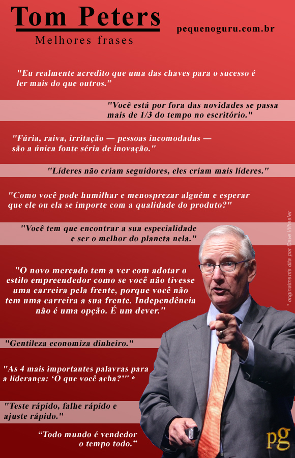 frases tom peters